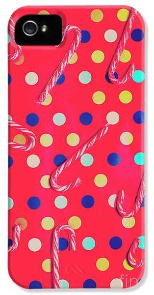 Colorful Pepermint Candy Canes IPhone 5 Case by Jorgo Photography - Wall Art Gallery