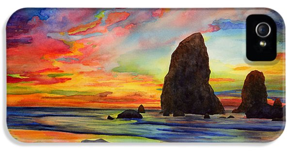 Pacific Ocean iPhone 5 Case - Colorful Solitude by Hailey E Herrera