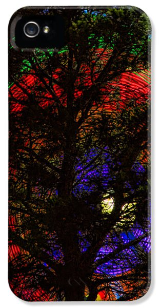Colorful Tree IPhone 5 Case