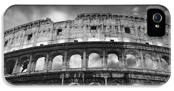 Colosseum - Rome IPhone 5 Case by Rod McLean