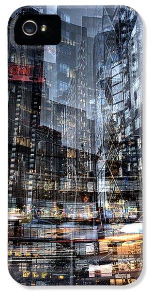 Columbus Circle Collage 1 IPhone 5 Case