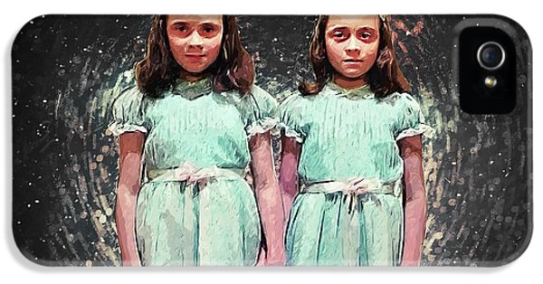 Come Play With Us - The Shining Twins IPhone 5 Case