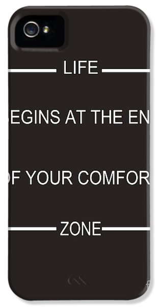 Comfort Zone IPhone 5 Case by Pati Photography