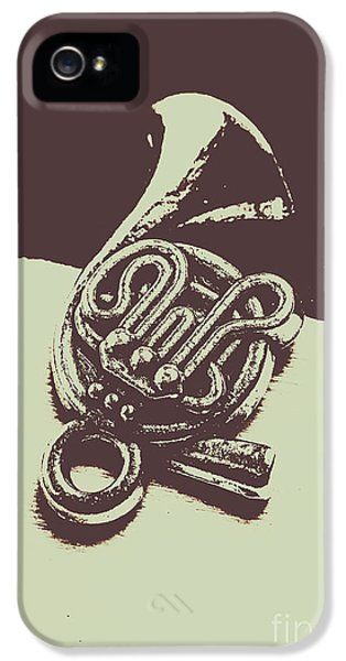 Trumpet iPhone 5 Case - Concert Of A French Horn by Jorgo Photography - Wall Art Gallery