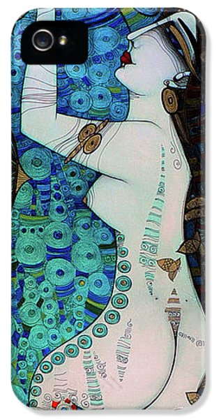 Confessions In Blue IPhone 5 Case