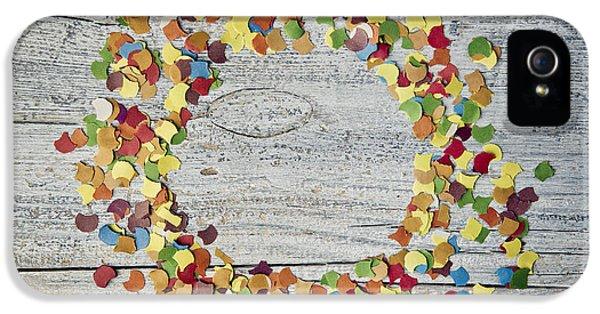 Confetti Circle IPhone 5 Case by Nailia Schwarz
