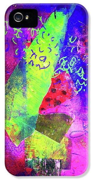 Confetti IPhone 5 Case by Nancy Merkle