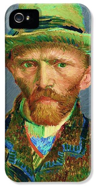 Contemporary 2 Van Gogh IPhone 5 Case by David Bridburg