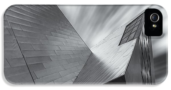 IPhone 5 Case featuring the photograph Contemporary Architecture Of The Shops At Crystals, Aria, Las Ve by Adam Romanowicz