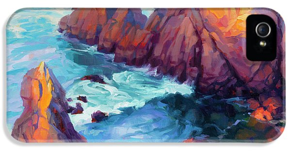 Pacific Ocean iPhone 5 Case - Convergence by Steve Henderson