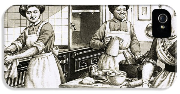 Cooking In Edwardian Times IPhone 5 Case