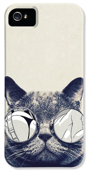 Cool Cat IPhone 5 Case