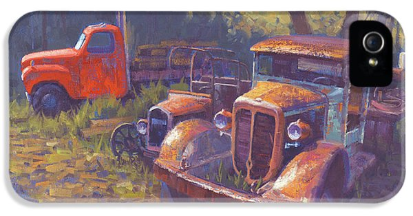 Truck iPhone 5 Case - Corbitt And Friends by Cody DeLong