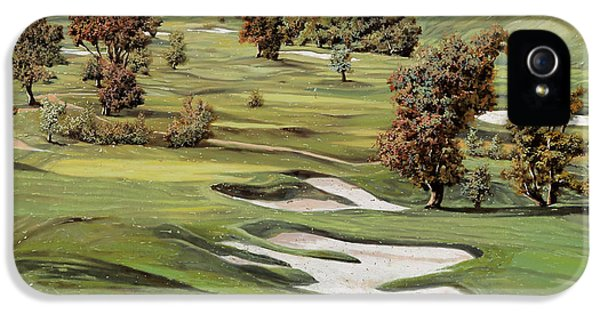Cordevalle Golf Course IPhone 5 Case