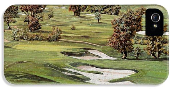 Cordevalle Golf Course IPhone 5 Case by Guido Borelli