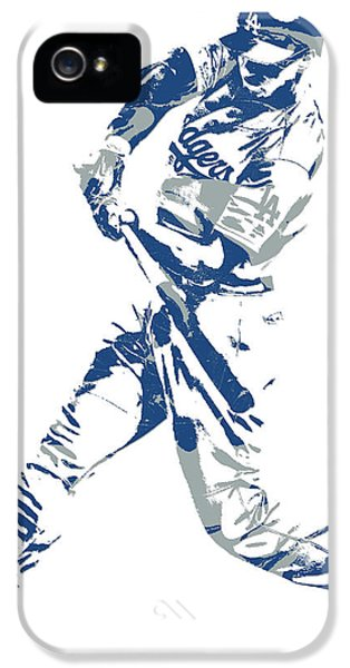 Corey Seager Los Angeles Dodgers Pixel Art 10 IPhone 5 Case