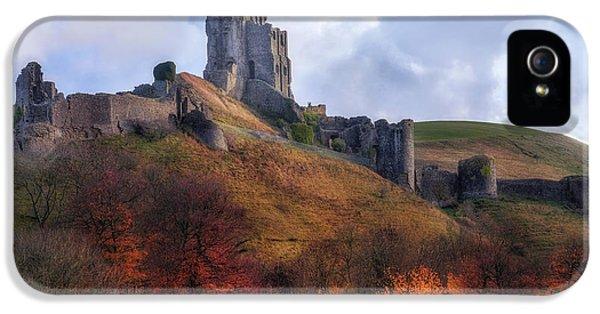 Dorset iPhone 5 Case - Corfe Castle - England by Joana Kruse