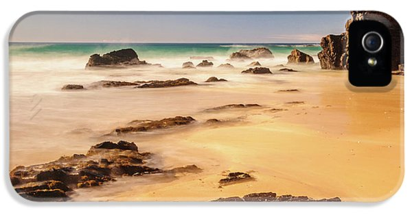 Corunna Point Beach IPhone 5 Case by Werner Padarin