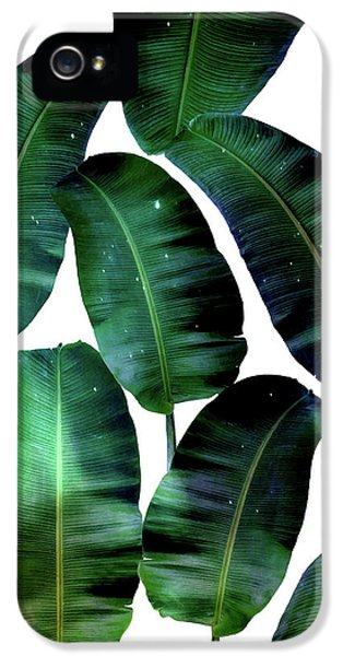Cosmic Banana Leaves IPhone 5 Case