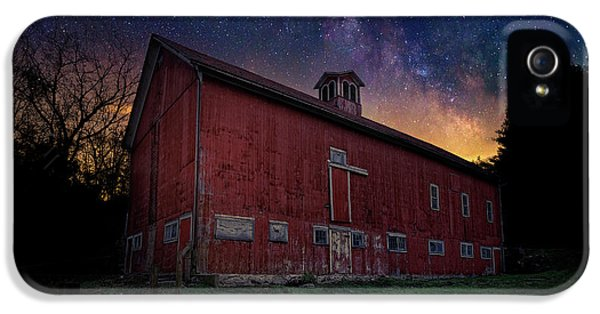 IPhone 5 Case featuring the photograph Cosmic Barn by Bill Wakeley