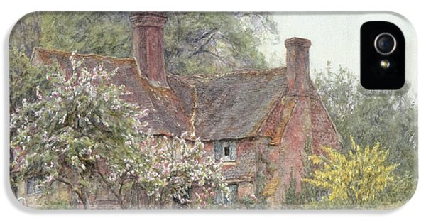 Cottage At Chiddingfold IPhone 5 Case by Helen Allingham