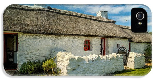 Cottage In Wales IPhone 5 Case by Adrian Evans