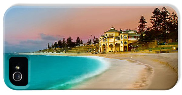 Featured Images iPhone 5 Case - Cottesloe Beach Sunset by Az Jackson
