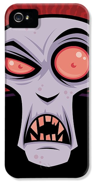 Count Dracula IPhone 5 Case by John Schwegel