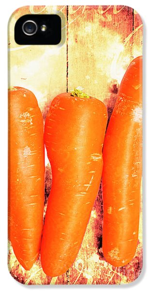 Carrot iPhone 5 Case - Country Cooking Poster by Jorgo Photography - Wall Art Gallery