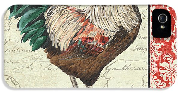Rooster iPhone 5 Case - Country Rooster 1 by Debbie DeWitt