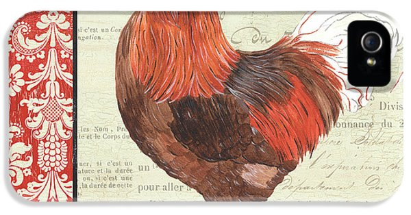 Rooster iPhone 5 Case - Country Rooster 2 by Debbie DeWitt
