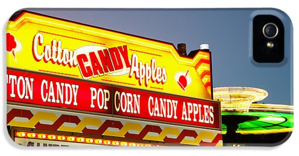 County Fair Concession Stand Food Sign IPhone 5 Case