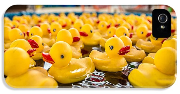 County Fair Rubber Duckies IPhone 5 / 5s Case by Todd Klassy