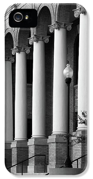 Courthouse Columns IPhone 5 Case by Richard Rizzo
