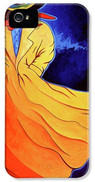 Cowboy Blue IPhone 5 Case by Lance Headlee