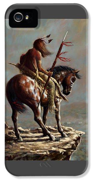 Crazy Horse_digital Study IPhone 5 Case