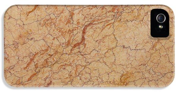 Crema Valencia Granite IPhone 5 Case by Anthony Totah