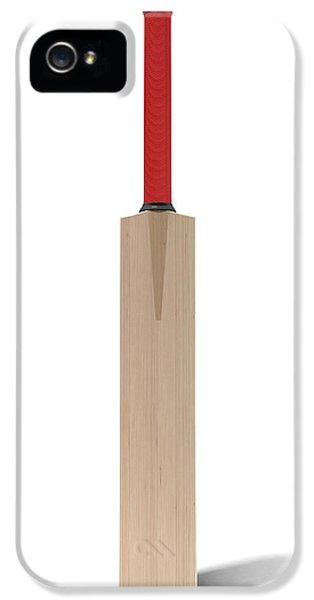Cricket Bat IPhone 5 Case by Allan Swart