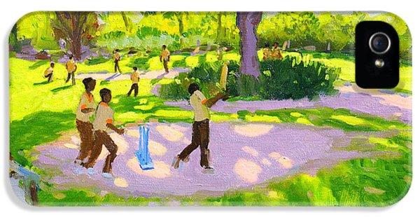 Cricket iPhone 5 Case - Cricket Practice by Andrew Macara