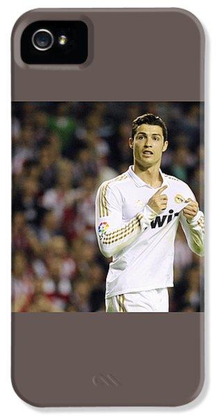 Cristiano Ronaldo 4 IPhone 5 / 5s Case by Rafa Rivas