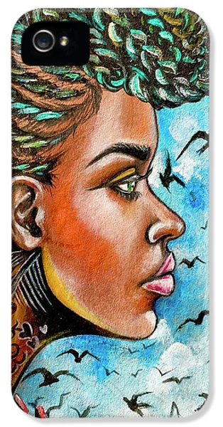 iPhone 5 Case - Crowned Royal by Artist RiA