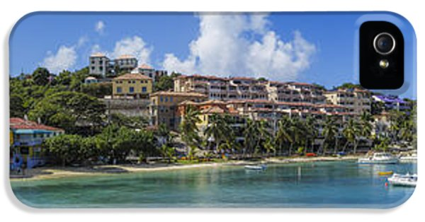 IPhone 5 Case featuring the photograph Cruz Bay, St. John by Adam Romanowicz