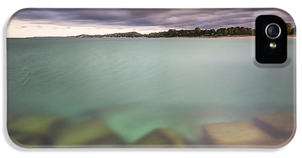 IPhone 5 Case featuring the photograph Crystal Clear Lake Michigan Waters by Adam Romanowicz
