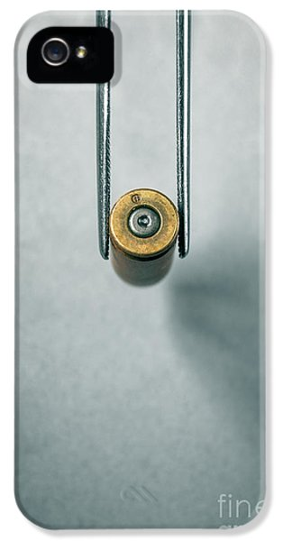 Csi Bullet Shell Evidence  IPhone 5 Case by Carlos Caetano