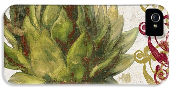 Cucina Italiana Artichoke IPhone 5 Case by Mindy Sommers