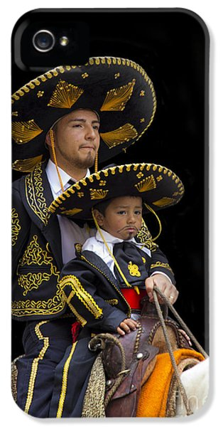 Cuenca Kids 648a IPhone 5 Case by Al Bourassa