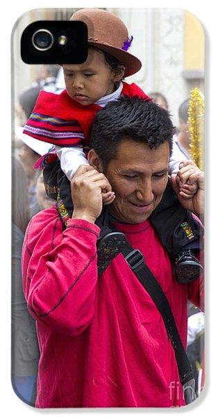 Cuenca Kids 651 IPhone 5 Case by Al Bourassa