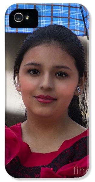 Cuenca Kids 727 IPhone 5 Case by Al Bourassa