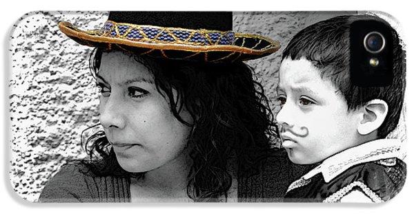 Cuenca Kids 912 IPhone 5 Case by Al Bourassa