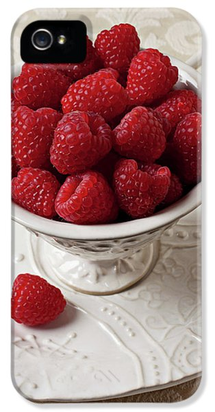 Cup Full Of Raspberries  IPhone 5 Case